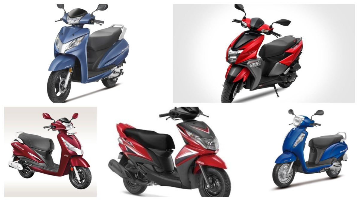 top selling scooters april 2019