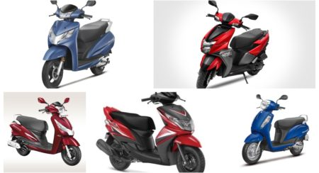 top-selling scooters april 2019