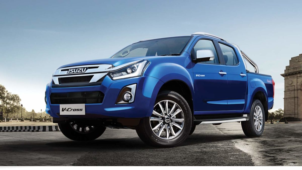 2019 Isuzu D Max V Cross front quarter low