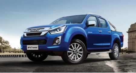 2019 Isuzu D Max V-Cross front quarter low