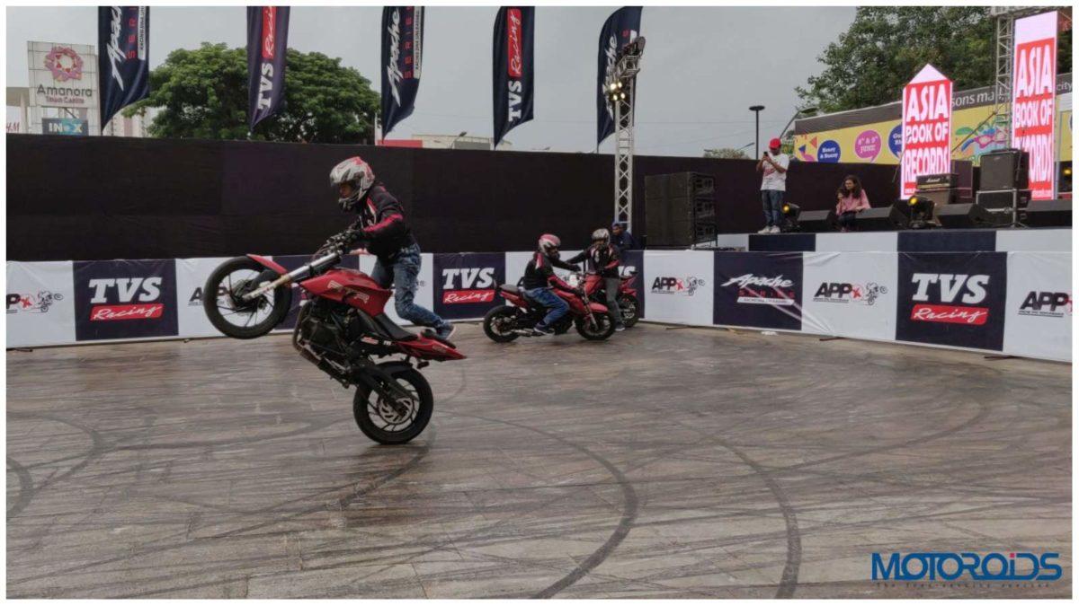 Apache Stunt event 3