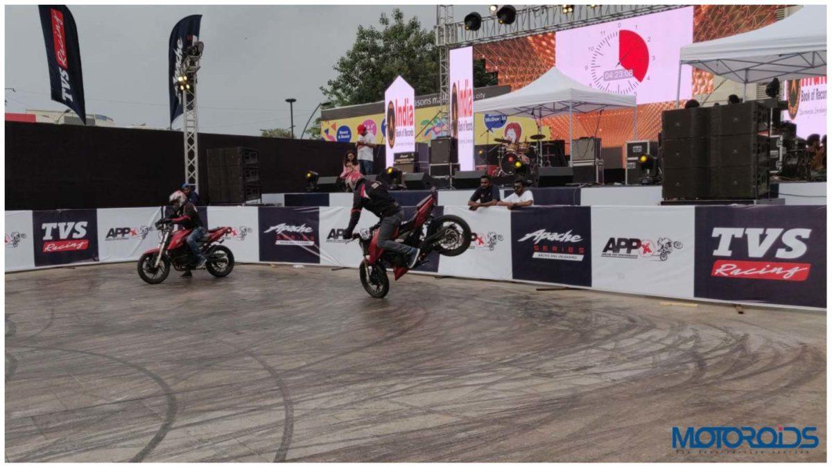 Apache Stunt event 8