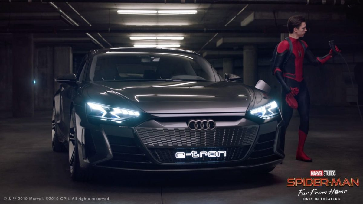 Audi spiderman 2