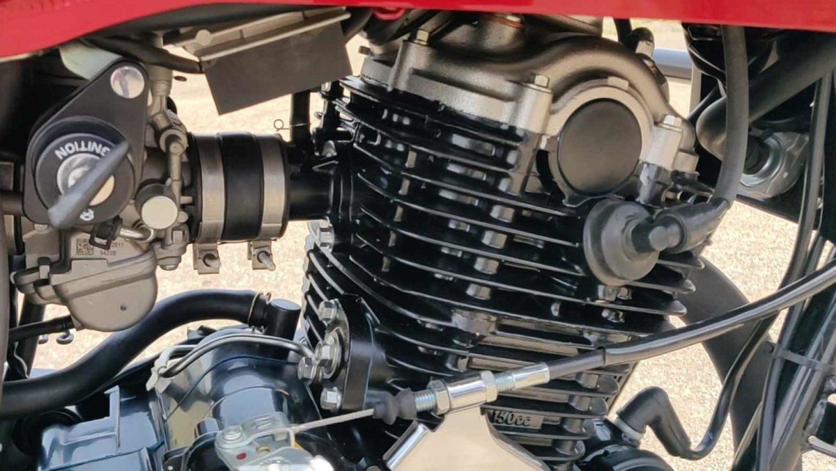 Bajaj Avenger Street 160 Review engine