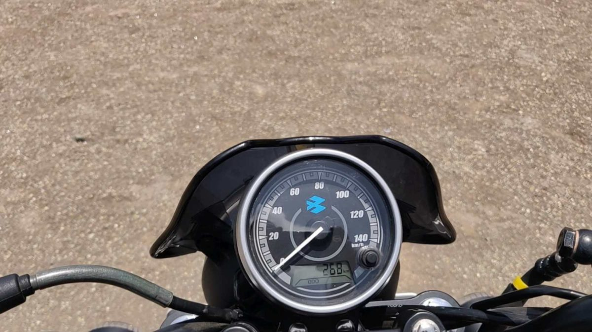 Bajaj Avenger Street 160 Review speedometer
