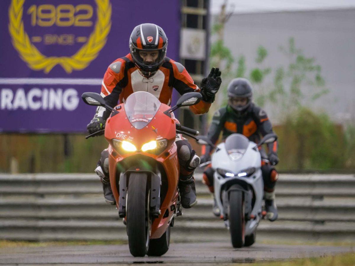 Ducati Race track Training Chennai