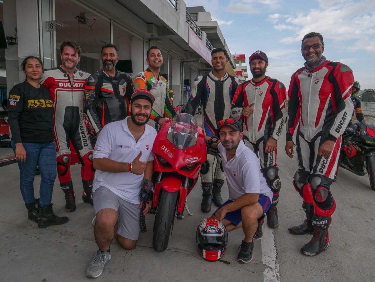 Ducati Race track Training Chennai garage side