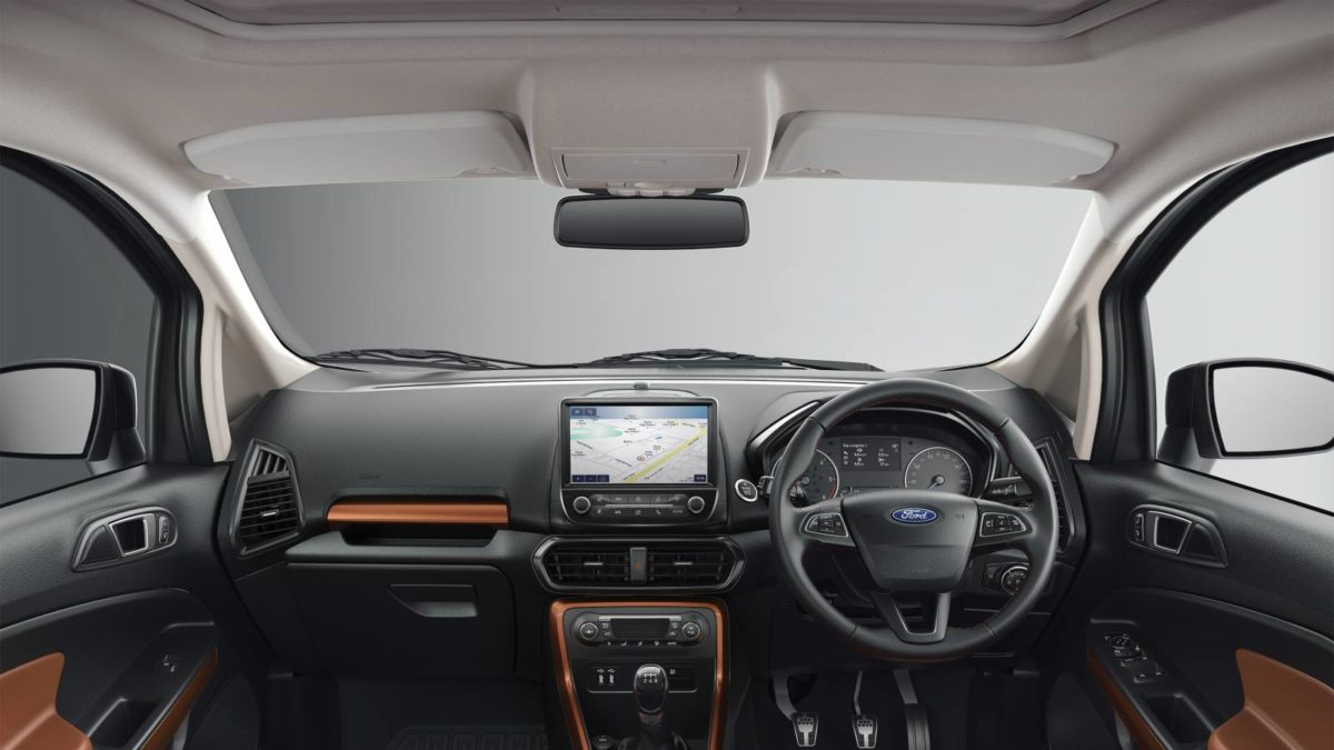 Ford Ecosport Thunder Edition dashboard