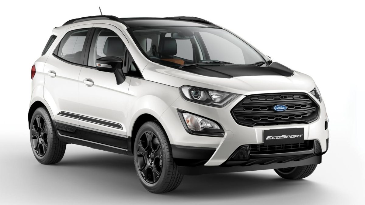 Ford Ecosport Thunder Edition front quarter
