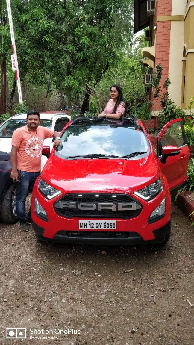 Ford Owners Group Meetup West Chapter red ecosport