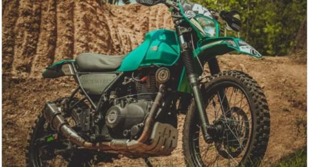 This Pumped Up Himalayan Is Ready For An Off-Road Adventure