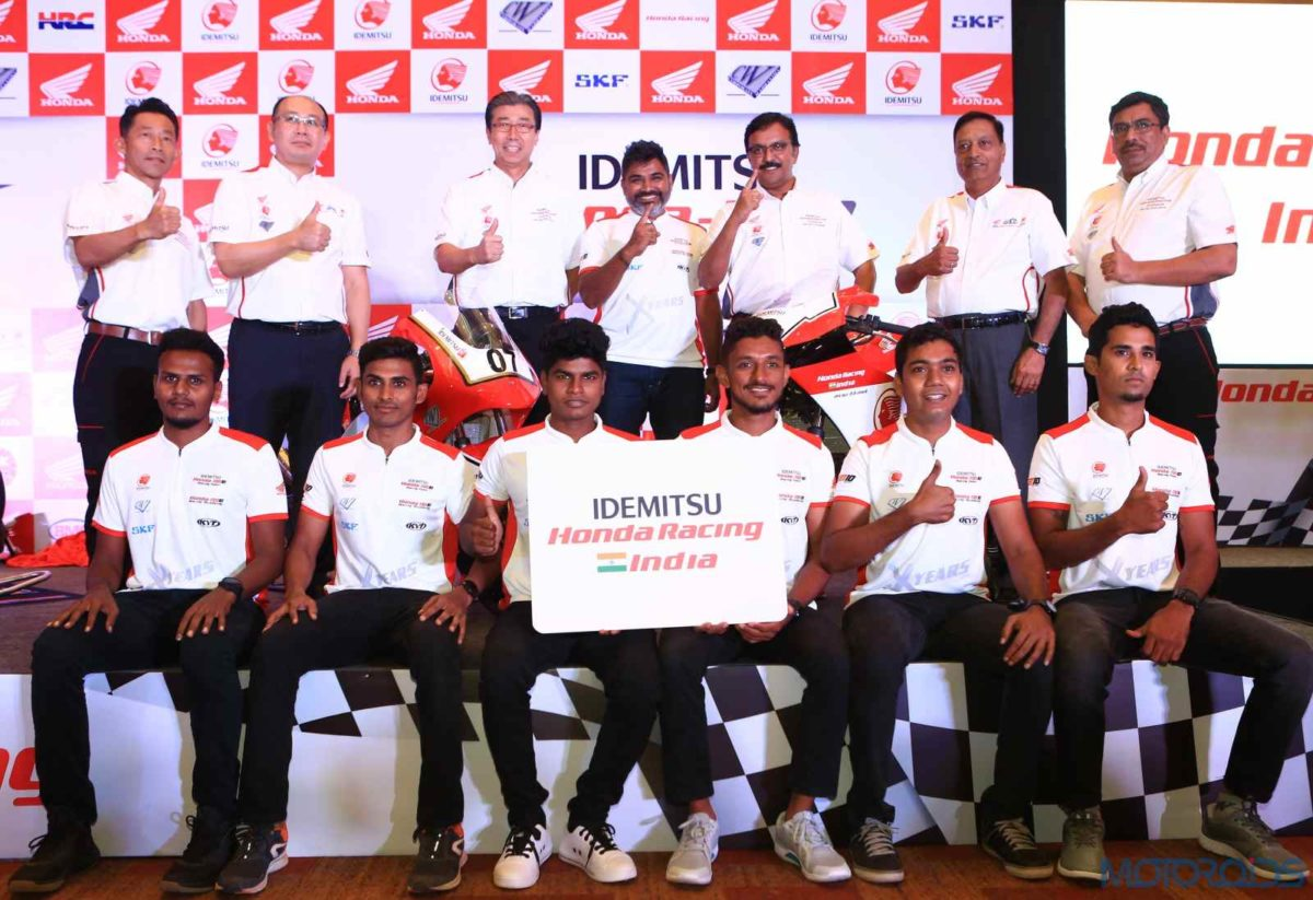 Honda creates revolution in Indian racing, announces team for INMRC 2019