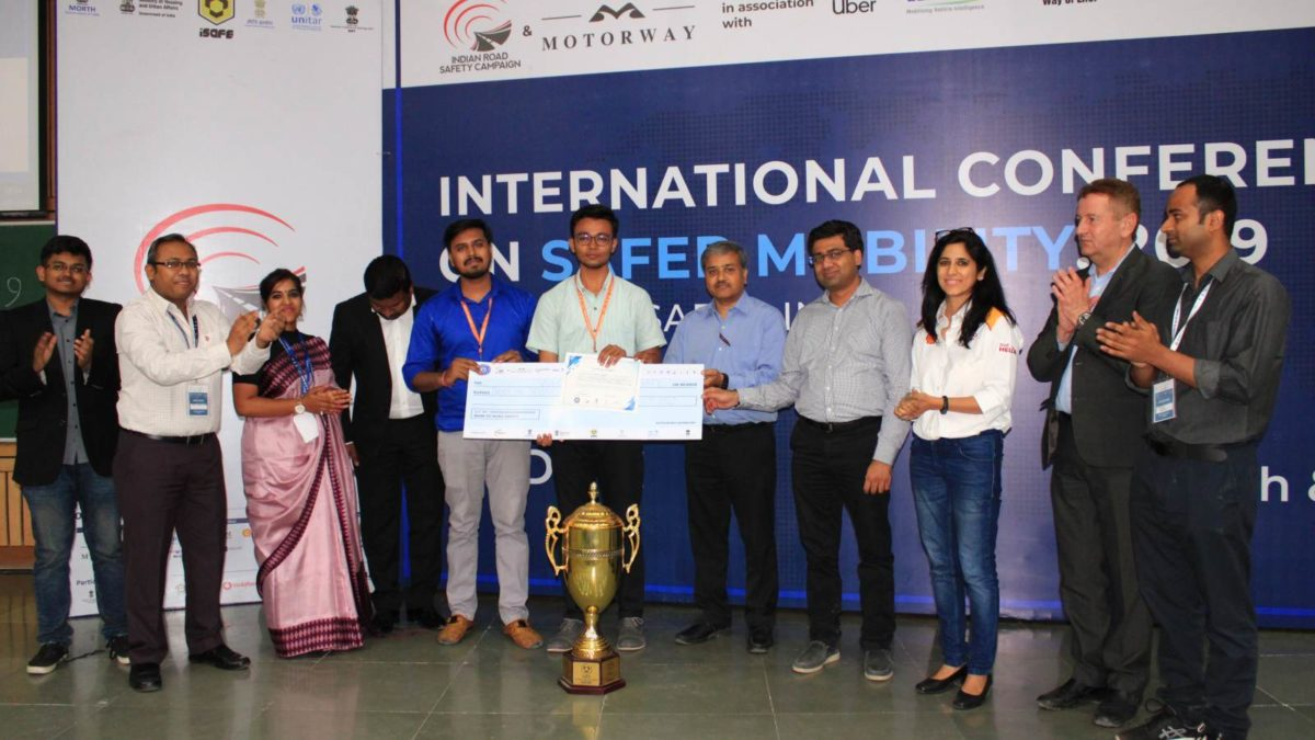 ICSM 2019 prize and trophy