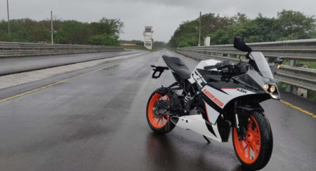 KTM RC 125 ABS White