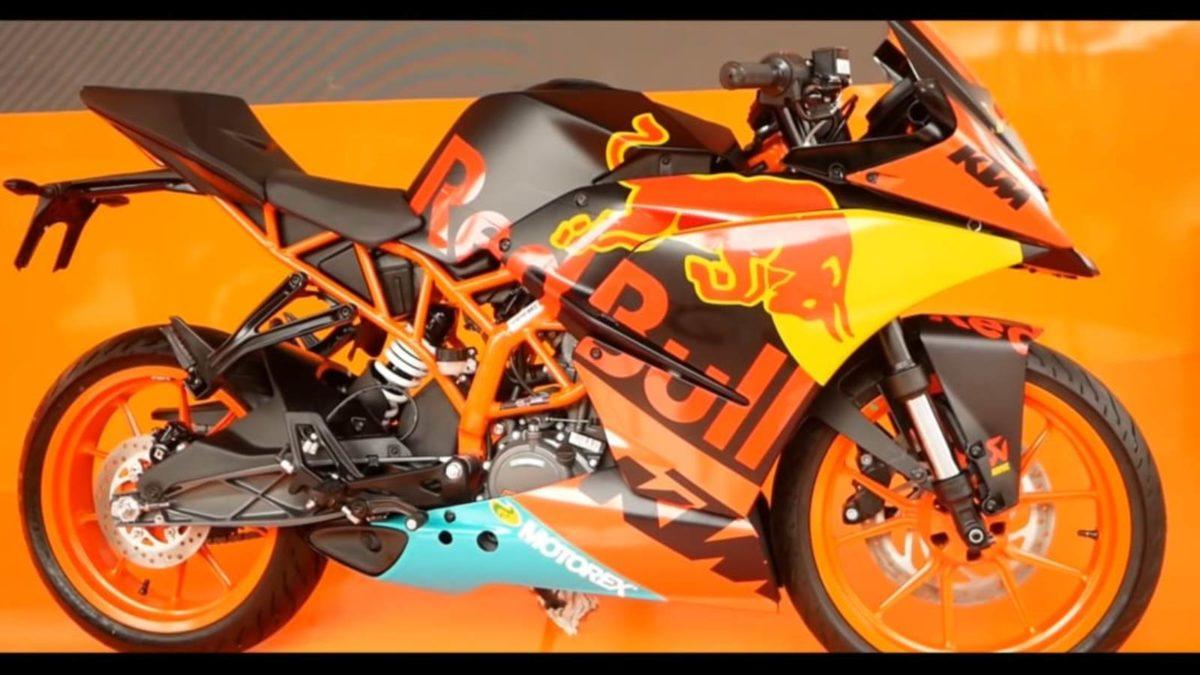 KTM RC 200 MotoGP livery side profile