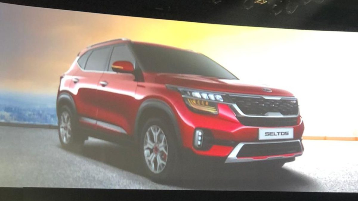 Kia Selto Global Seltos on screen