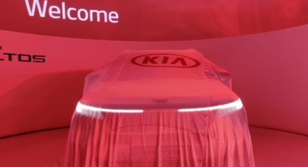 Kia Selto Global Unveil front in cover