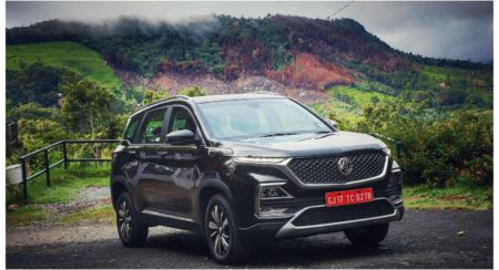 MG Hector Gets First Over The Air Update