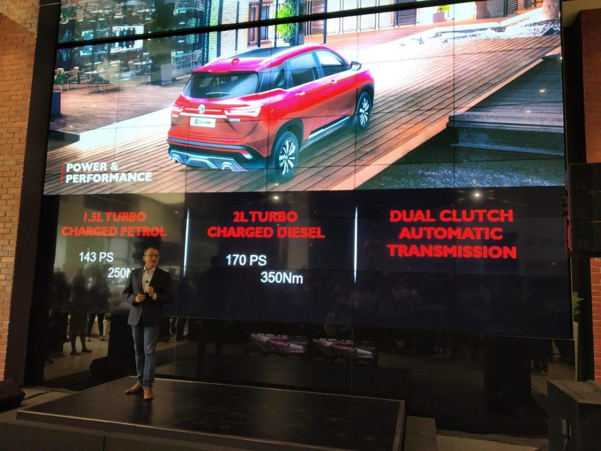 MG Hector Launch (2)