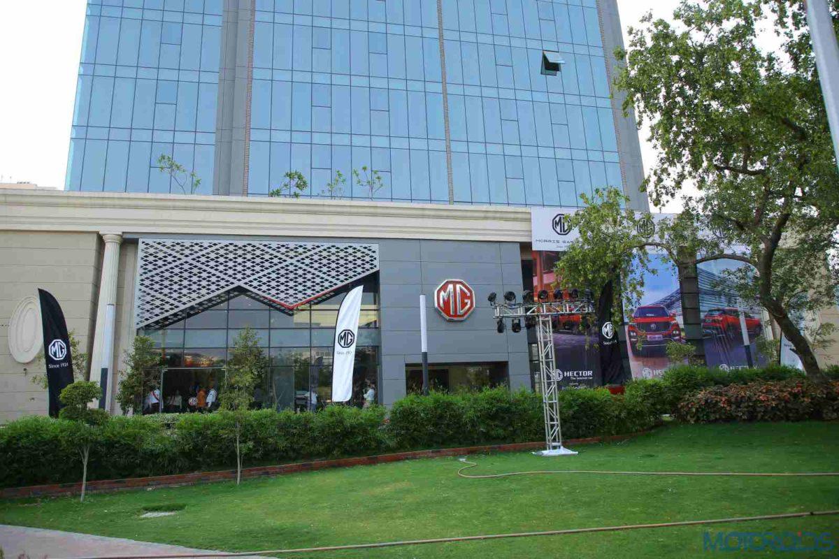 MG Motor India Flagship Store (4)