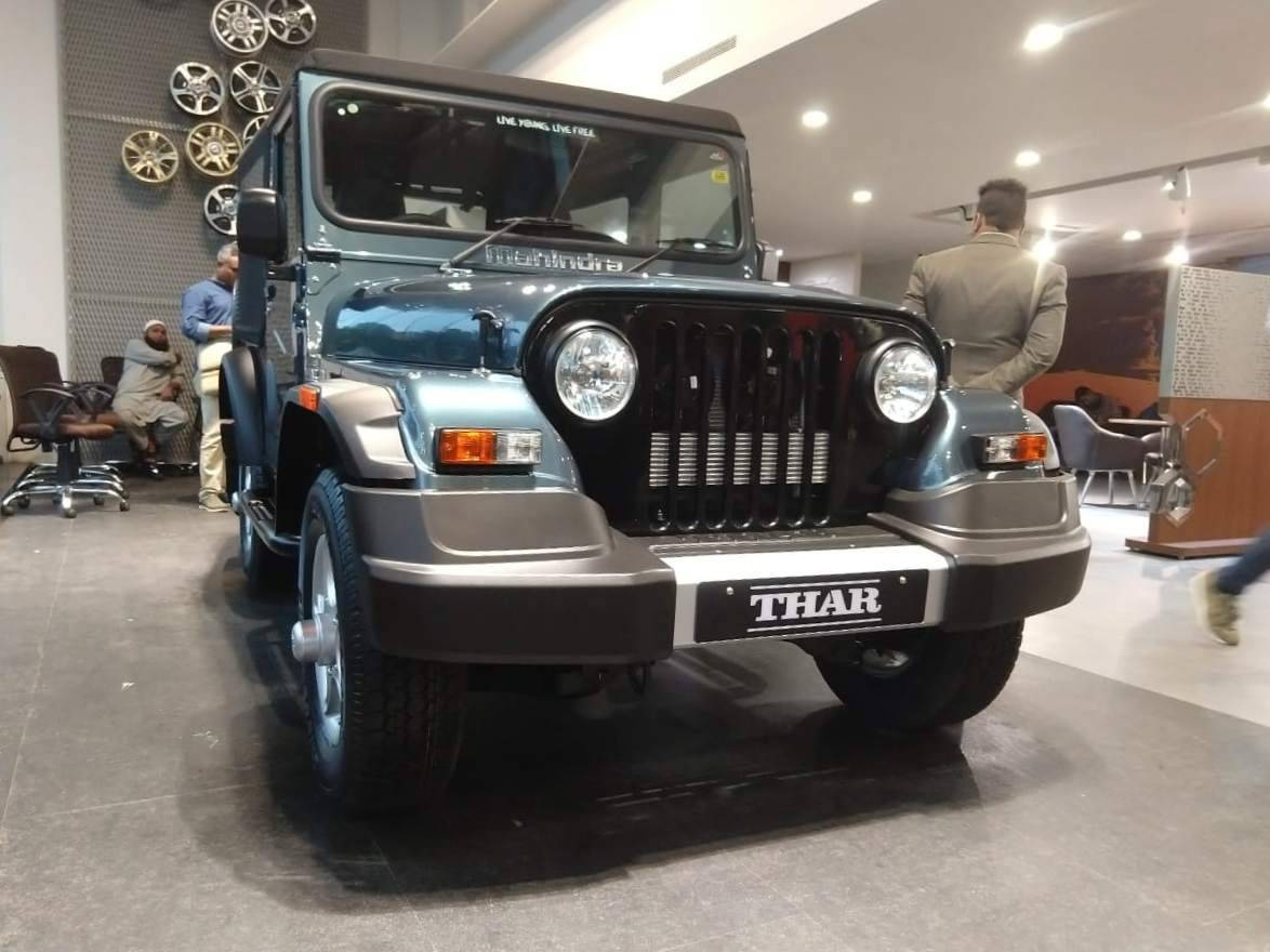 Mahindra Thar 700 front quarter low