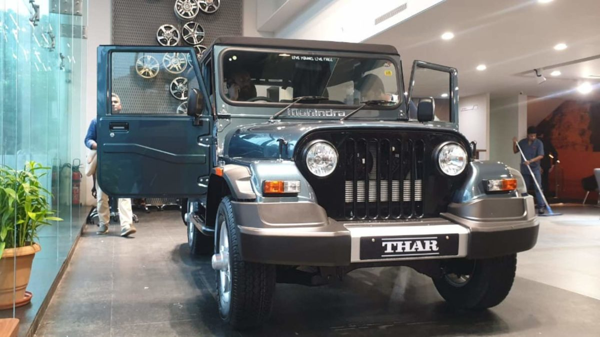 Mahindra Thar 700 left quarter low