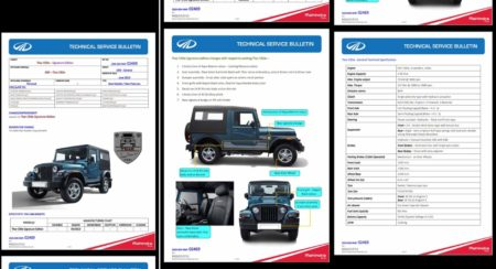 Mahindra Thar Signature Edition Leaked Documents Featured