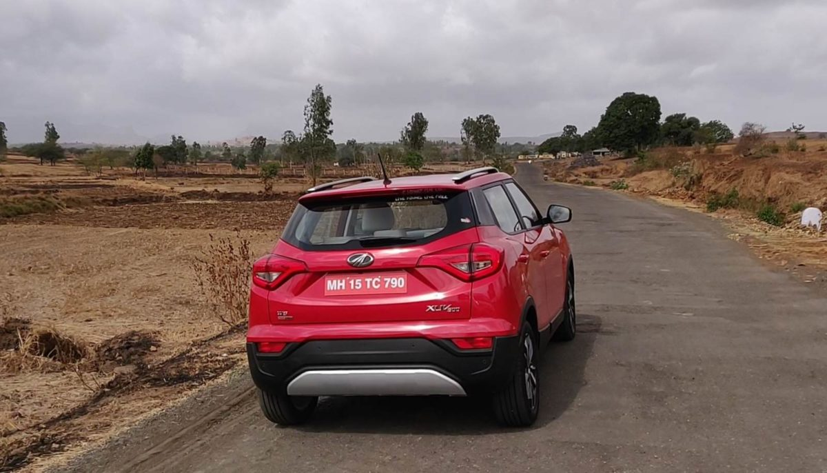 Mahindra XU300 Automatic Review Rear
