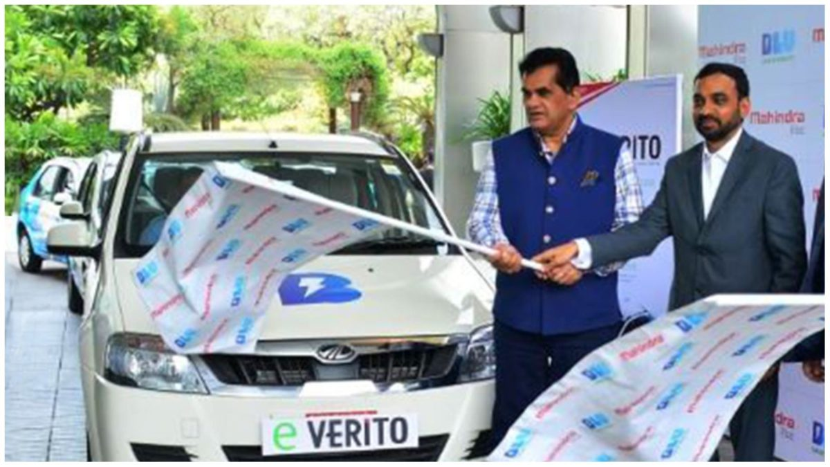 Mahindra flagss off eVeritios
