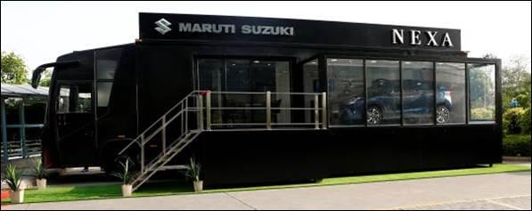 Maruti Suzuki Nexa terminal