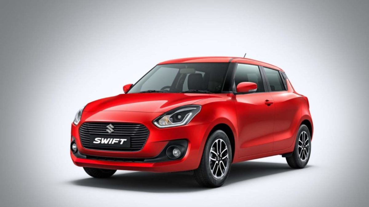 Maruti Suzuki Swift front quarter