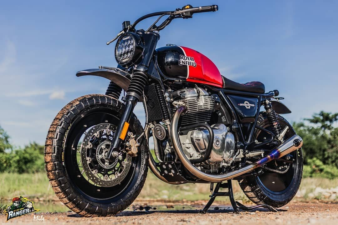 This Royal Enfield Interceptor 650 Is Designed To Impress
