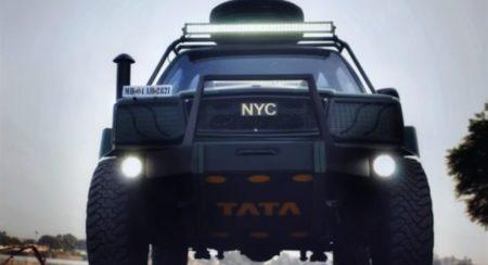 Modified Tata Sierra