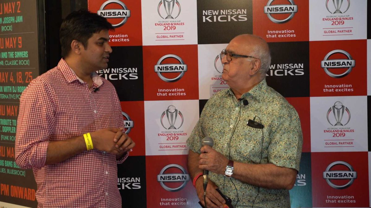 Nissan Kicks event chat with customer