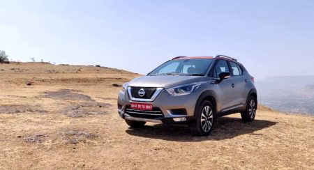 Nissan Kicks front right quarter