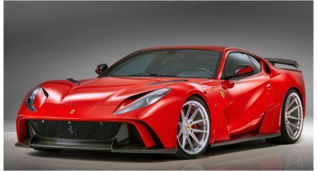 Novitec Ferrari 812 front angle