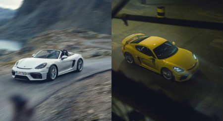 718 Cayman GT4 & 718 Spyder Are Porsche's Offering For Purists