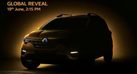 Renault Triber launch Teaser