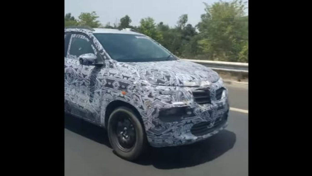 Renault e Kwid front view