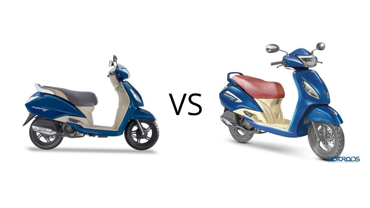 Terrific Tvs Jupiter Grande Edition Vs Zx Key Differences Machost Co Dining Chair Design Ideas Machostcouk