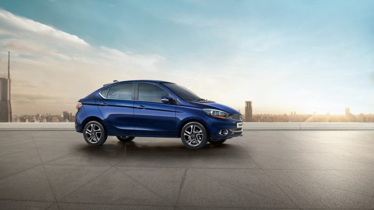 Tata Tigor AMT side