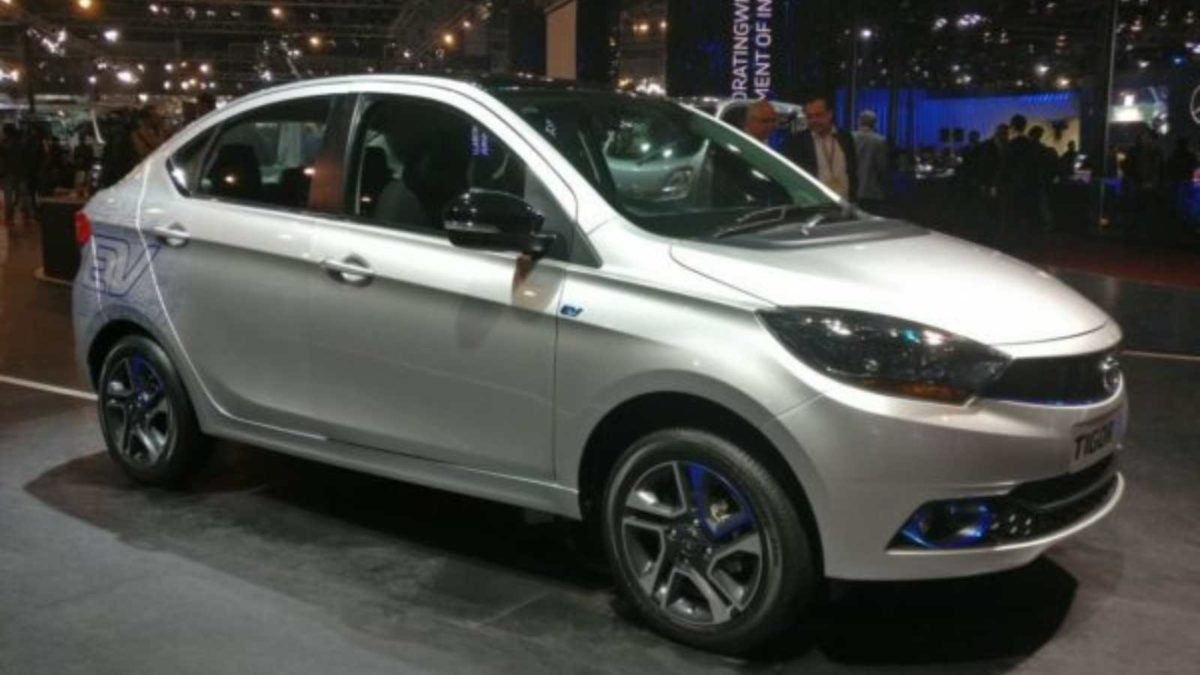 Tata Tigor EV featured
