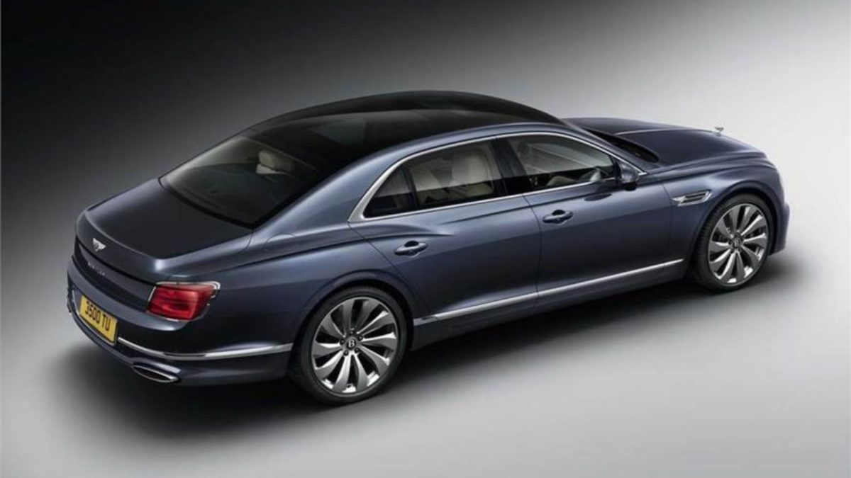 Third Generation Bentley Flying Spur rear quarter top