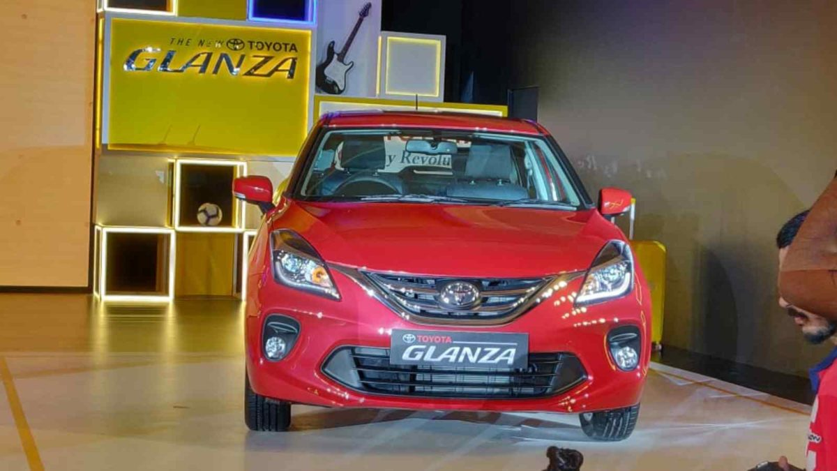 Toyota Glanza Launch front