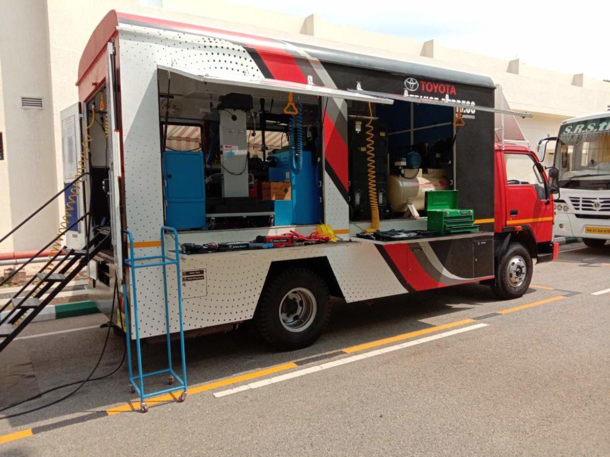 Toyota Kirlosakr plant visit express service