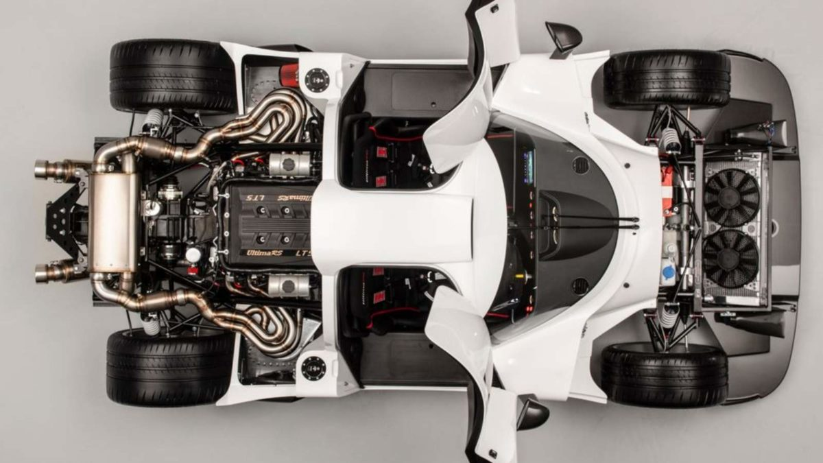 Ultima RS top view open