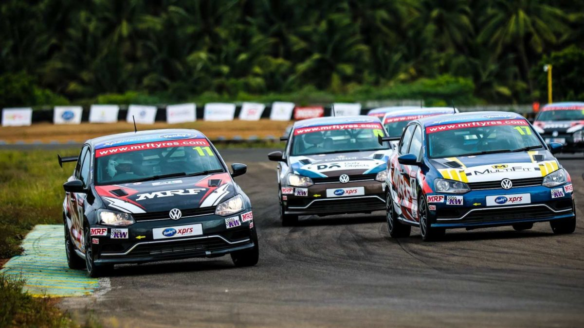 Volkswagen Ameo Cup 2019 first round race 2