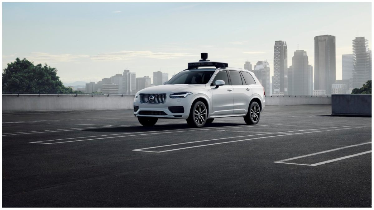 Volvo and uber self driving car 1