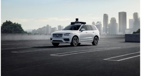 Volvo and uber self-driving car 1