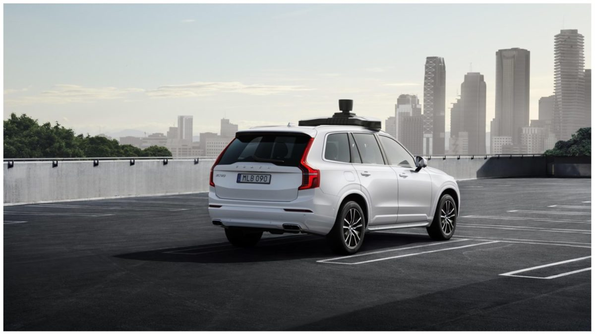 Volvo and uber self driving car 2